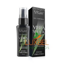 Gel Corporal Vibra Shock Menta 20mL - Suave Fragrance